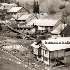 Infrastructures vers 1960