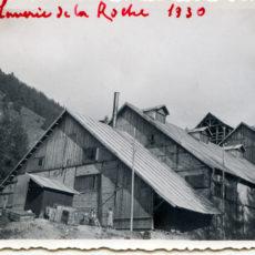 Laverie de la Roche en 1930