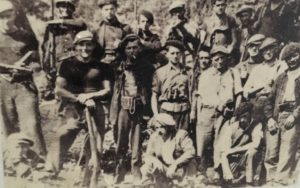 Groupe résistants Valezan
